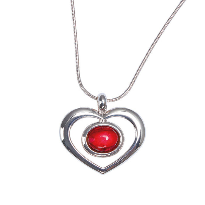 Heathergems Open Heart Pendant (HP21)