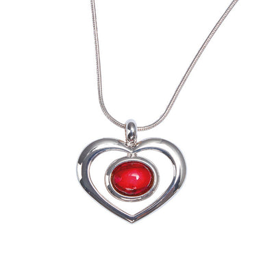 heathergems open heart pendant