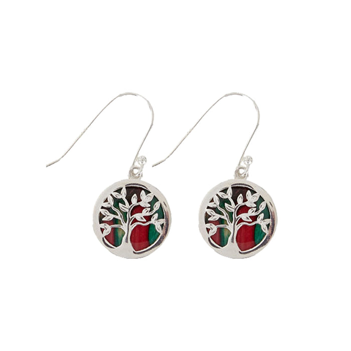 heathergems silver tree of life earrings