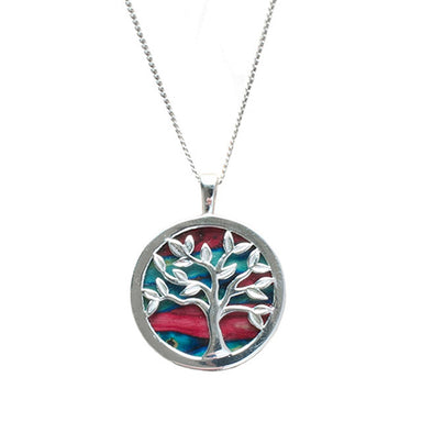 silver tree of life pendant by heathergems