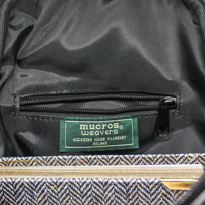 inside of colleen backpack by mucros weavers
