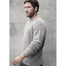 model of crew neck sweater pullover by irelands eye knitwear