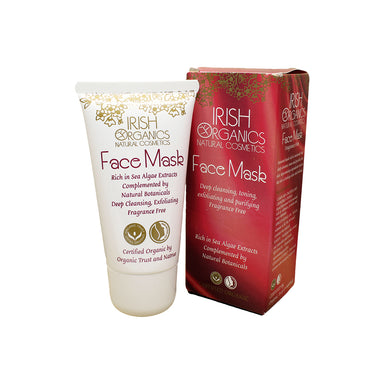 irish organics natural cosemtics face mask