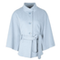 front of baby blue alcon cape by jimmy hourihan