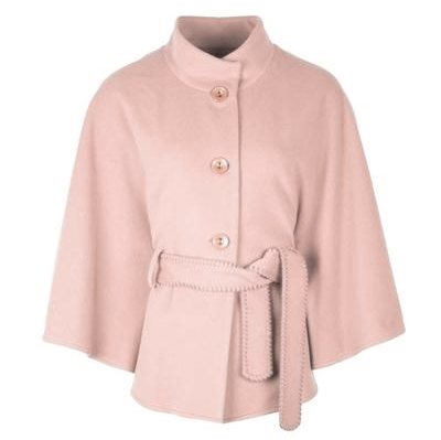 front of pale pink alcon cape by jimmy hourihan