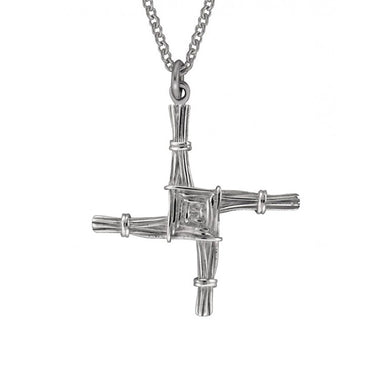 "st brigid cross on 18"" chain by jmh"