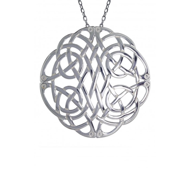 Sterling Silver Large Celtic Knot Pendant