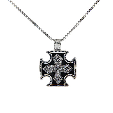 biker cross pendant by keith jack
