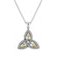 small trinity knot pendant by keith jack