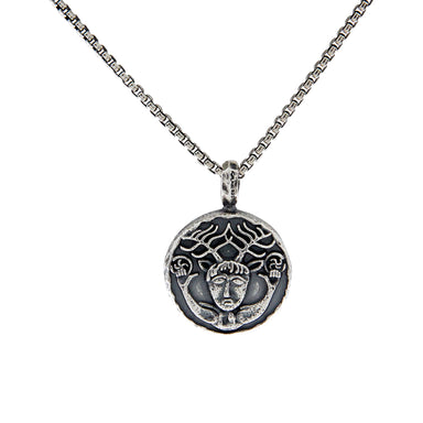 cernunnos coin pendant by keith jack