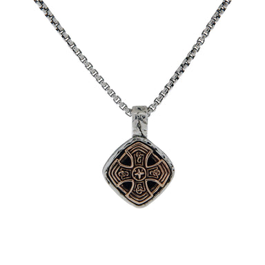 celtic cross cushion pendant by keith jack