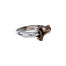 sterling silver bronze sword ring by keith jack