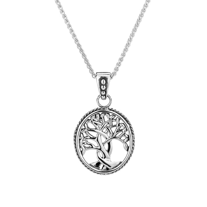 silver tree of life pendant by keith jack