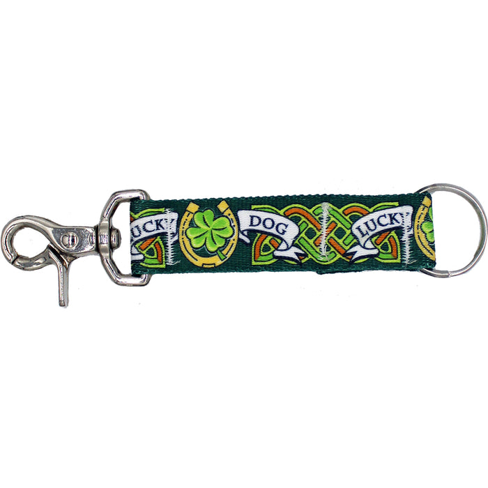 lucky dog irish key chain