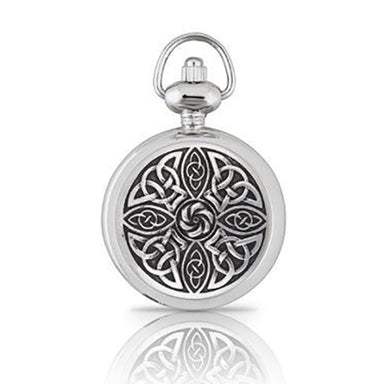 ladies celtic knot pocket watch by ae williams