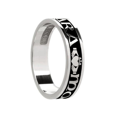 ladies mo anam cara soulmate wedding band ring by boru
