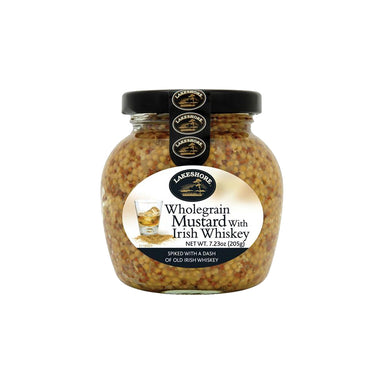 lakeshore irish whiskey wholegrain mustard by food ireland