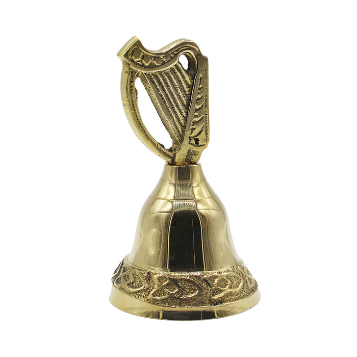 small harp brass bell by liffey artefacts
