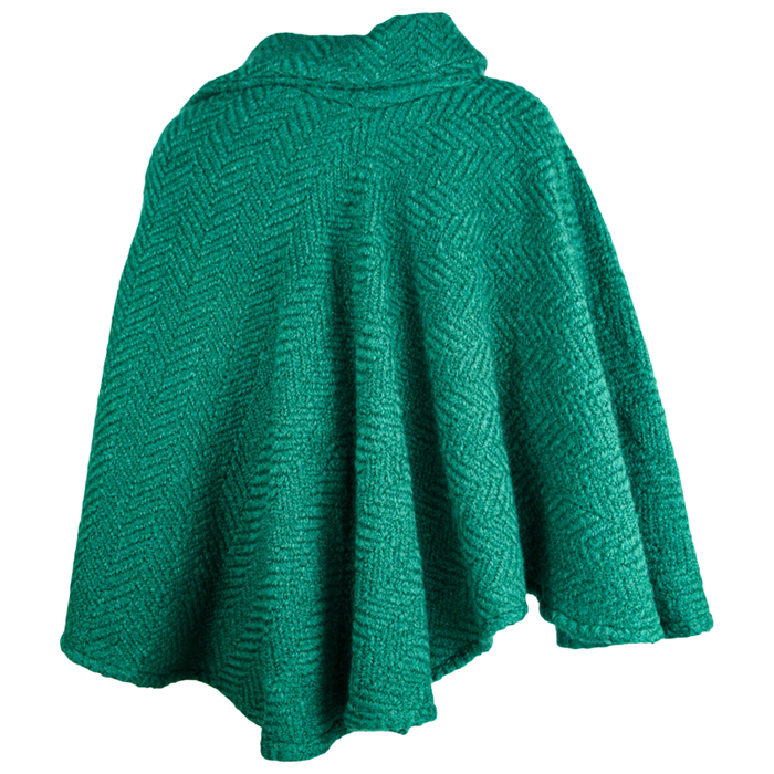 back of pine laura poncho by branigan weaver