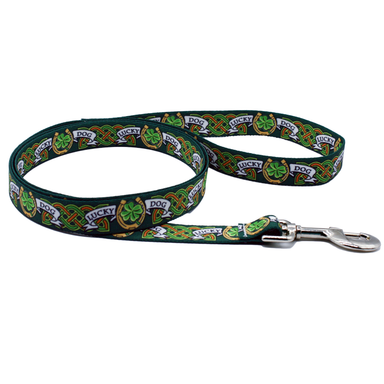 lucky dog leash by burke and hogan