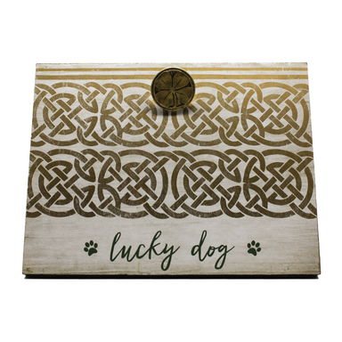 lucky dog pet photo frame