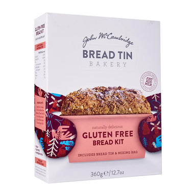 mccambridge gluten free bread kit by food ireland