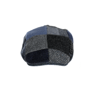 tweed patchwork walking hat