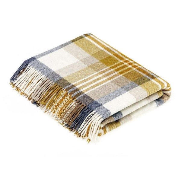 Bronte By Moon 100% Pure Wool Throws