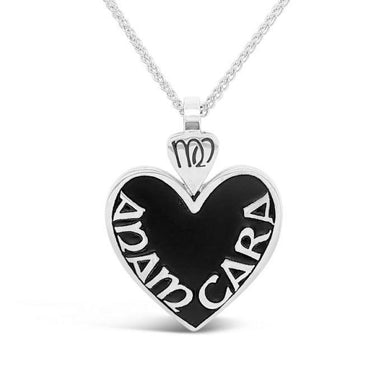 mo anam cara soulmate pendant with large heart by boru