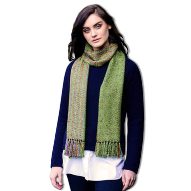 model of aran scarf style am 16 by mucros weavers