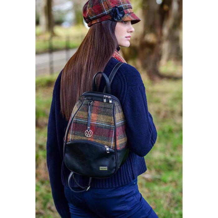 model of colleen backpack color 321 by mucros weavers
