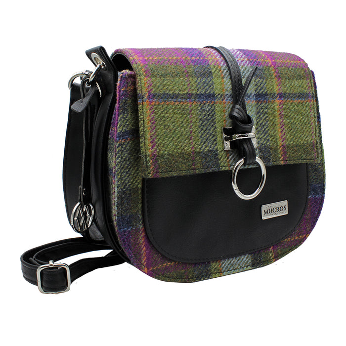 wool and leather grace bag by style 574-1 by mucros weavers