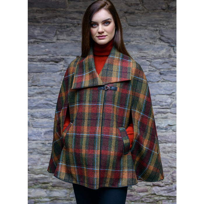 model of kenmare cape color 321 by mucros weavers