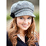 model of color 1 ladies newsboy cap by mucros weavers