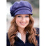 model of color 213 ladies newsboy cap by mucros weavers