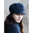 model of color 34 ladies newsboy cap by mucros weavers
