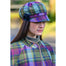model of color 574-1 ladies newsboy cap by mucros weavers