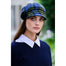 model of color 772-2 ladies newsboy cap by mucros weavers