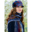 model of color 773-4 ladies newsboy cap by mucros weavers