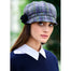model of 801-2 ladies newsboy cap by mucros weavers