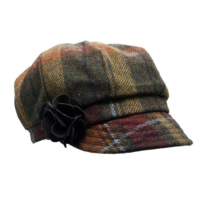 ladies newsboy cap color 321 by mucros weavers