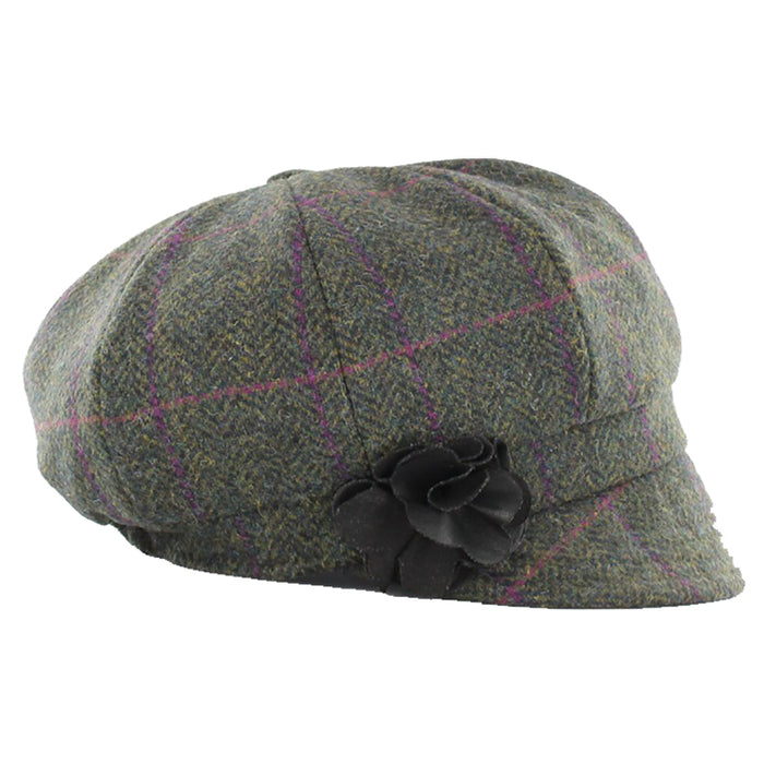 ladies newsboy cap color 150 by mucros weavers