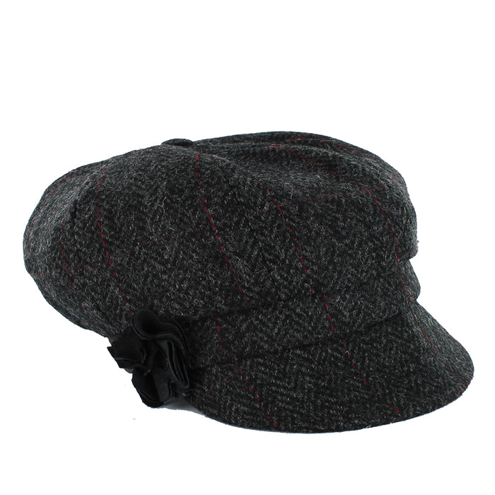 ladies newsboy cap color 31 by mucros weavers