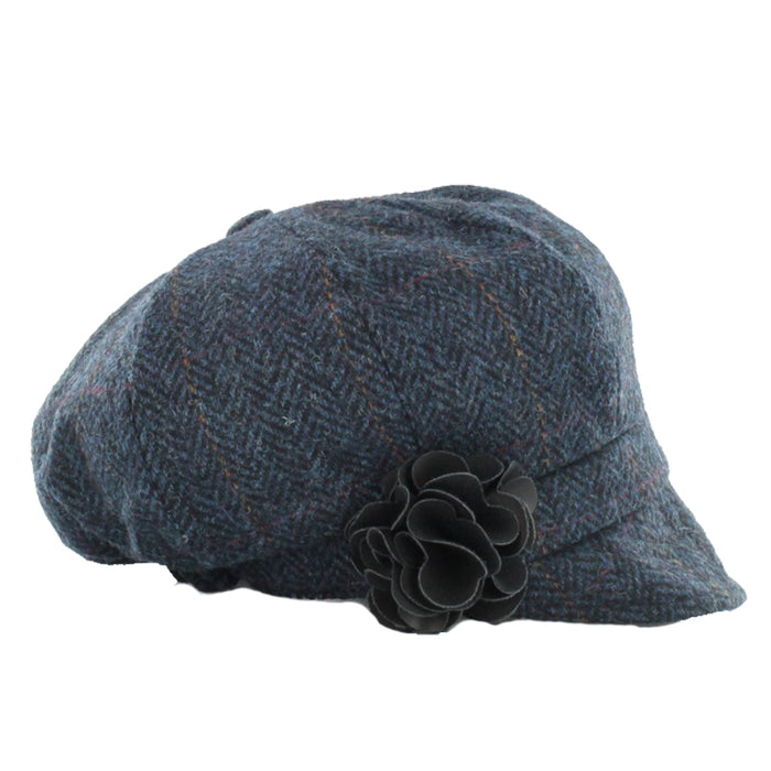 color 34 ladies newsboy cap by mucros weavers