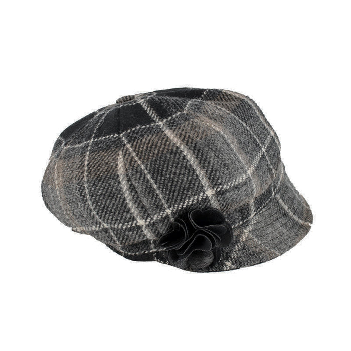 color 21 ladies newsboy cap by mucros weavers