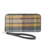 front of tweed wallet color 203 by mucros weavers