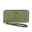 front of tweed wallet color 51 by mucros weavers
