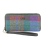 front of tweed wallet color 736 by mucros weavers