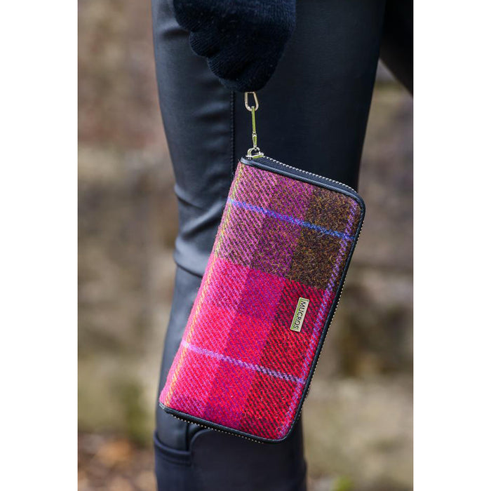 Irish Tweed Hand Wallet