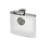 celtic design stainless steel hip flask by mullingar pewter